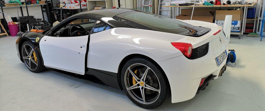 Ferrari 430 Wrapping - Cantarelli Group