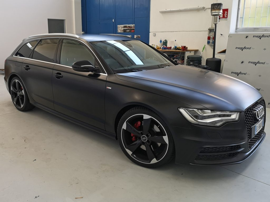Audi Car Wrapping- cantarelli group