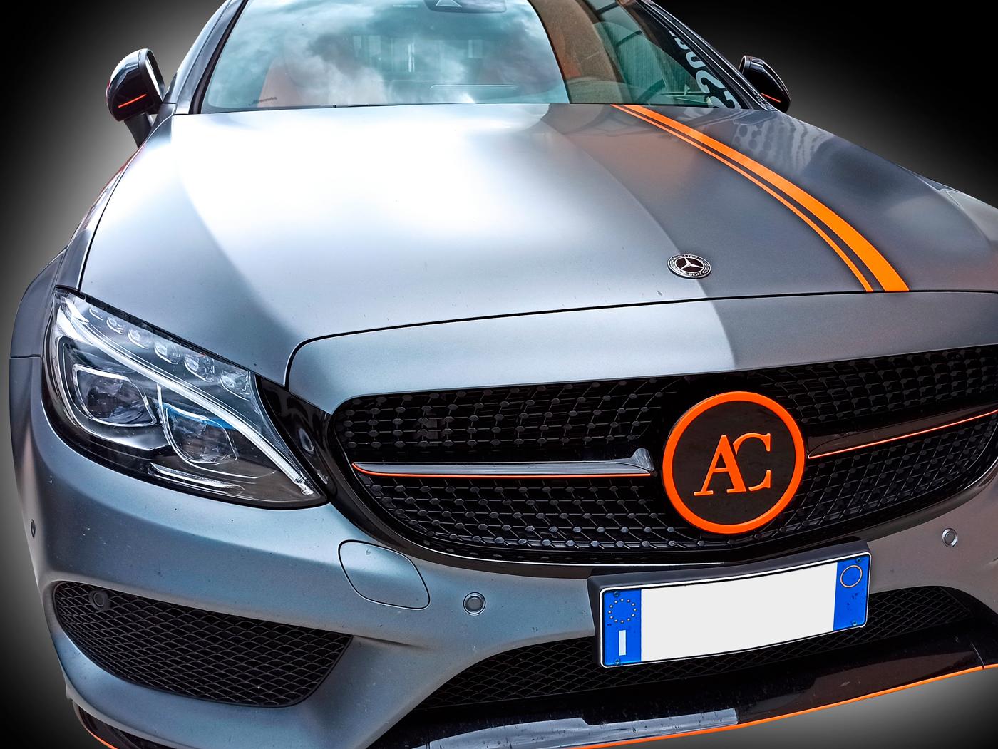 Mercedes Supercar wrapping cantarelli group