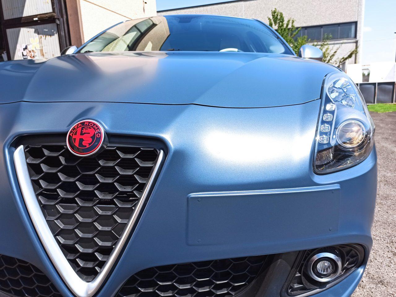 Alfa Romeo Supercar wrapping cantarelli group